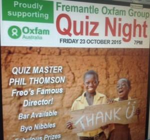OXFAM quiz