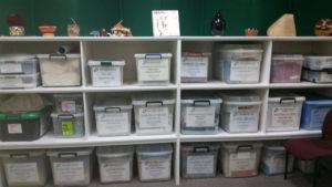 kits shelf